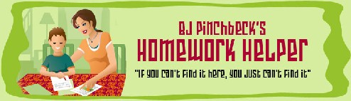 BJ Pinchbeck's Homework Helper Logo